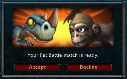 Pet Battle WoW Invite