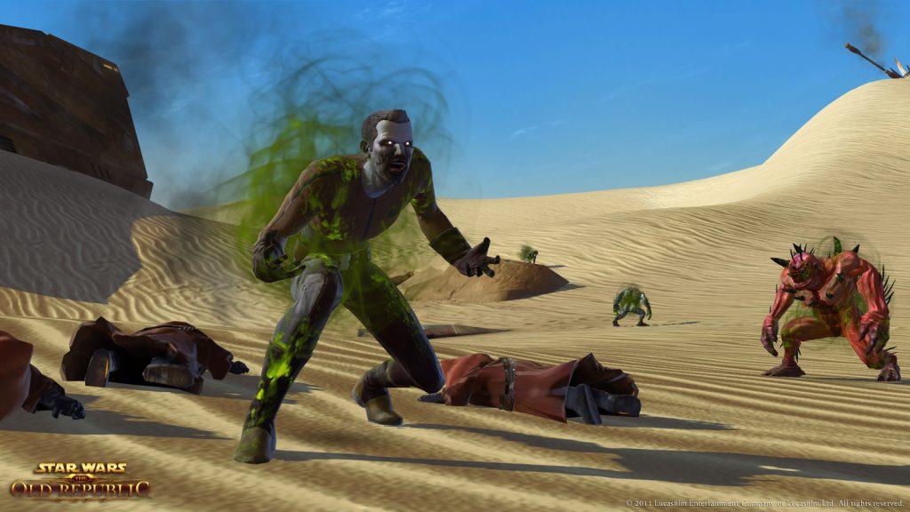 Die Rakghule sind wieder auf Tatooine - deckt Euch mit genügend Impfstoffen ein!