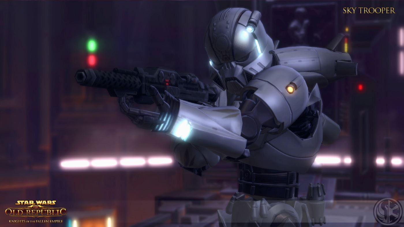 SWTOR Kknights of the fallen Empire SkyTrooper