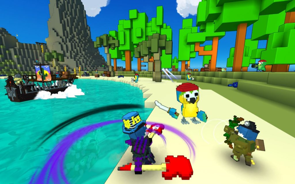 Trove Launch Screenshot
