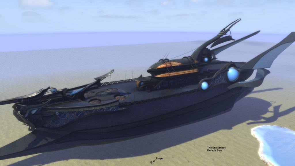 """Der """"Sea Strider"""" ist mehr als nur groß. Gigantisch. Bildquelle: riftgrate.com"""