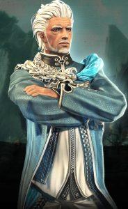 Hansu ist der Jedi-Meister Anführer des Coelinordens.