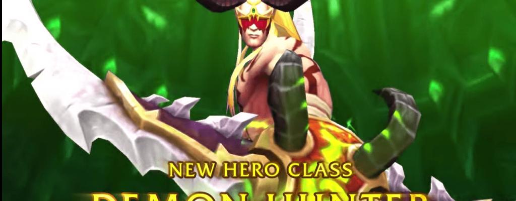 World of Warcraft: Legion – Wir stellen die neue Klasse Dämonenjäger vor!