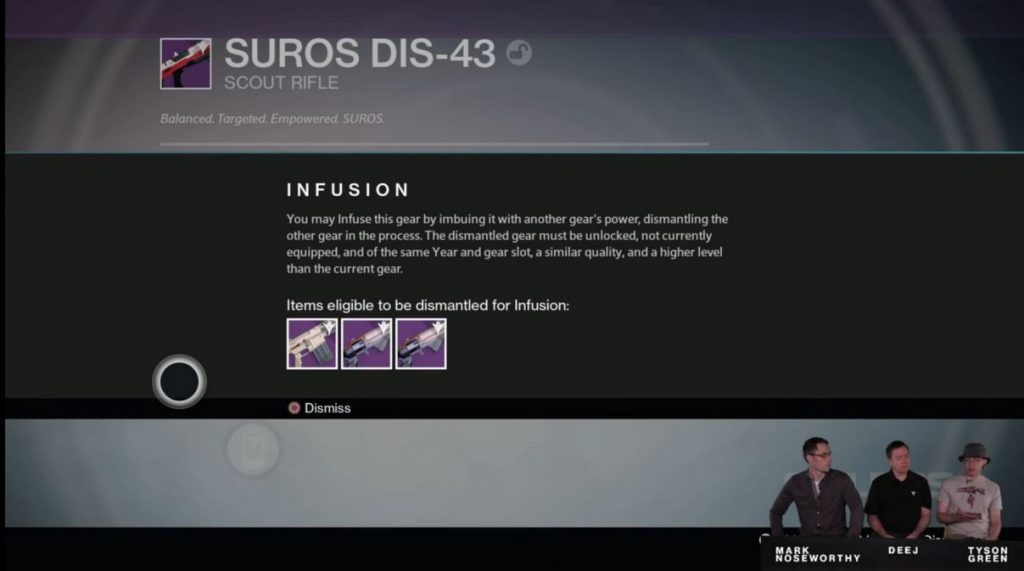 Destiny Taken King Infusion