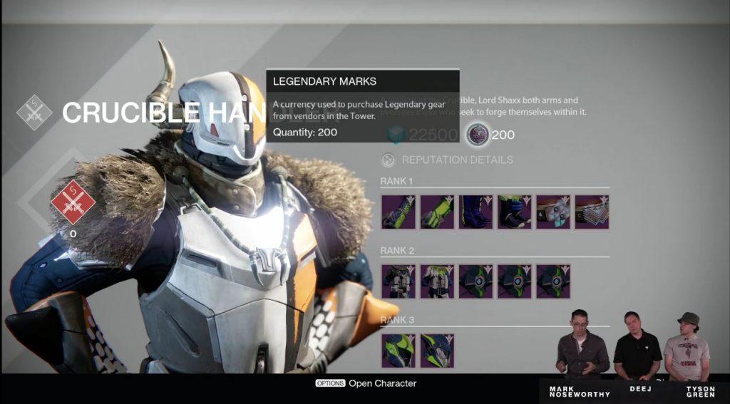 Destiny Taken King Legendary Marks