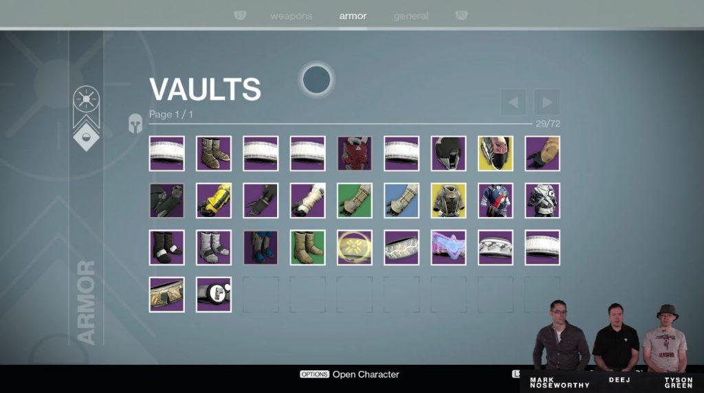Destiny Taken King Vaults