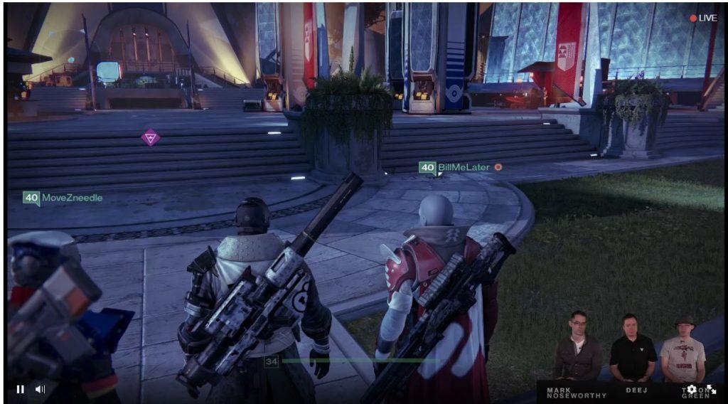 Destiny Taken King Weapon Showcase