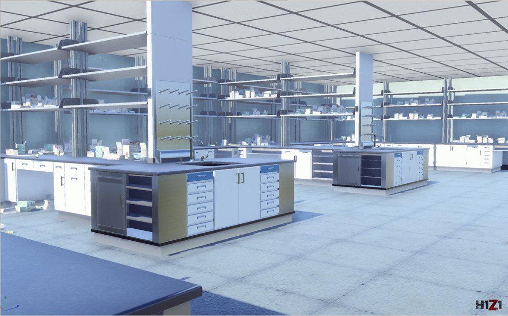 H1Z1-Labor-Raum