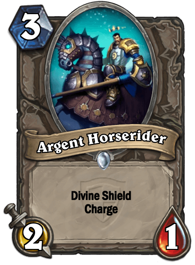 HearthStone Argent Horserider