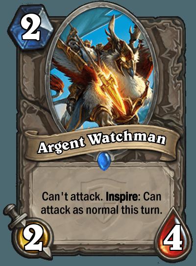 HearthStone Argent Watchman