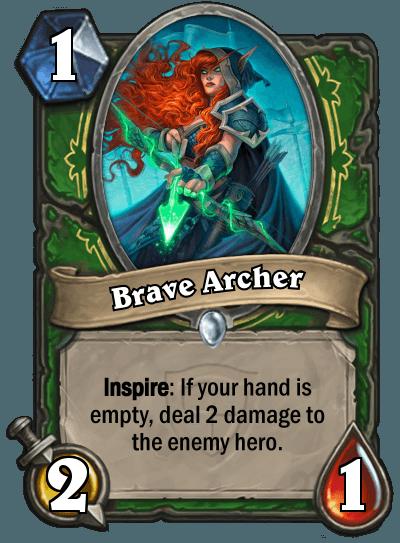 HearthStone Brave Archer