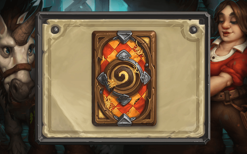 HearthStone Card Back August