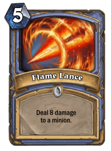 HearthStone Flame Lance