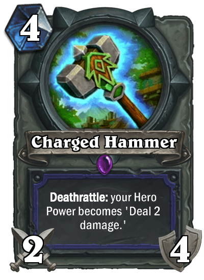 Hearthstone Charged Hammer