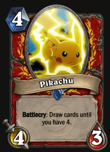 Pikachu hätte eine spannende Mechanik - aber klar, er ist ja auch der Liebling aller Fans.