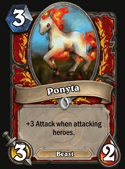 Hearthstone Fan pokemon ponyta