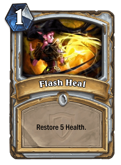 Hearthstone Flash Heal
