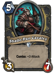 Hearthstone Shado-Pan Cavalry