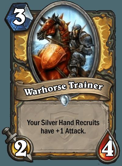 Hearthstone Warhorse Trainer
