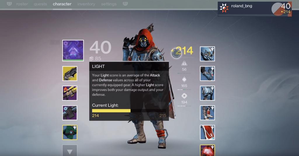 Light-Level-Destiny