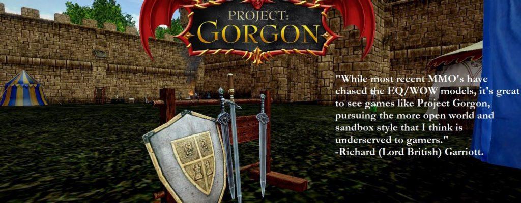 Sandbox-MMORPG Project: Gorgon erfolgreich per Kickstarter finanziert