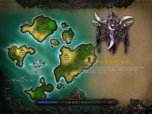 So sahen die Inseln noch in Warcraft 3 aus - Frisch aus dem Meer gehoben.