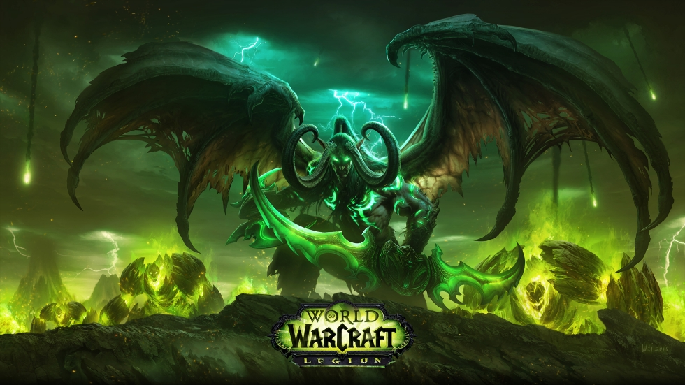 WoW Legion Wallpaper small