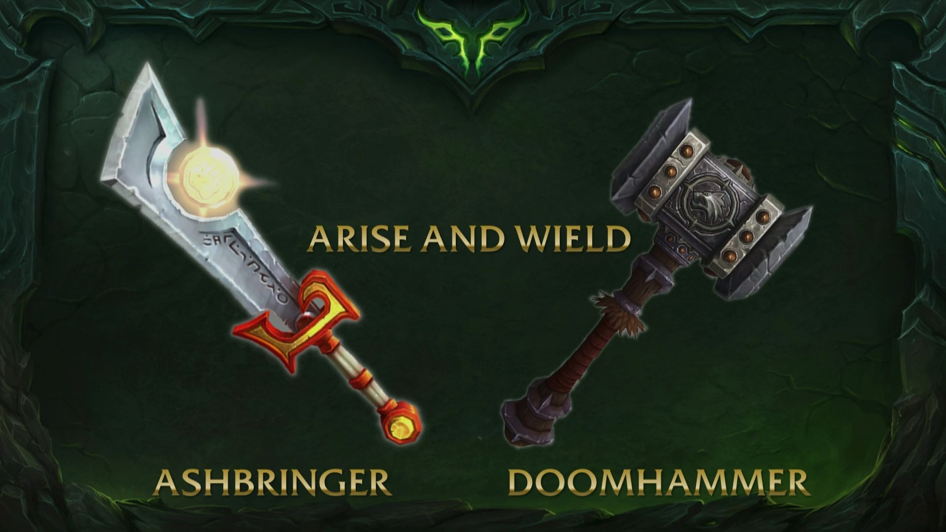 Wow artifact ashbringer doomhammer