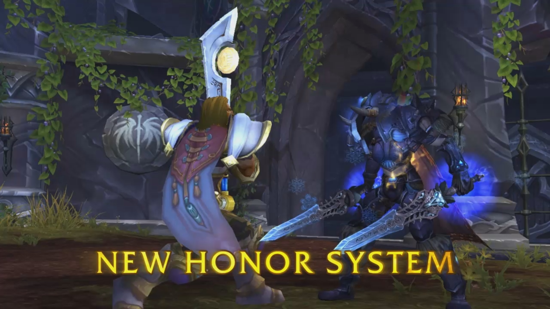 Wow honor system PvP