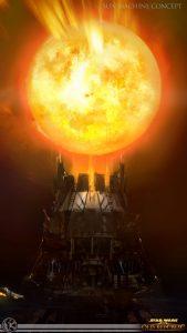 """Was die """"Sonnenmaschine"""" ist, werden wir wohl im Laufe der Geschichte erfahren."""