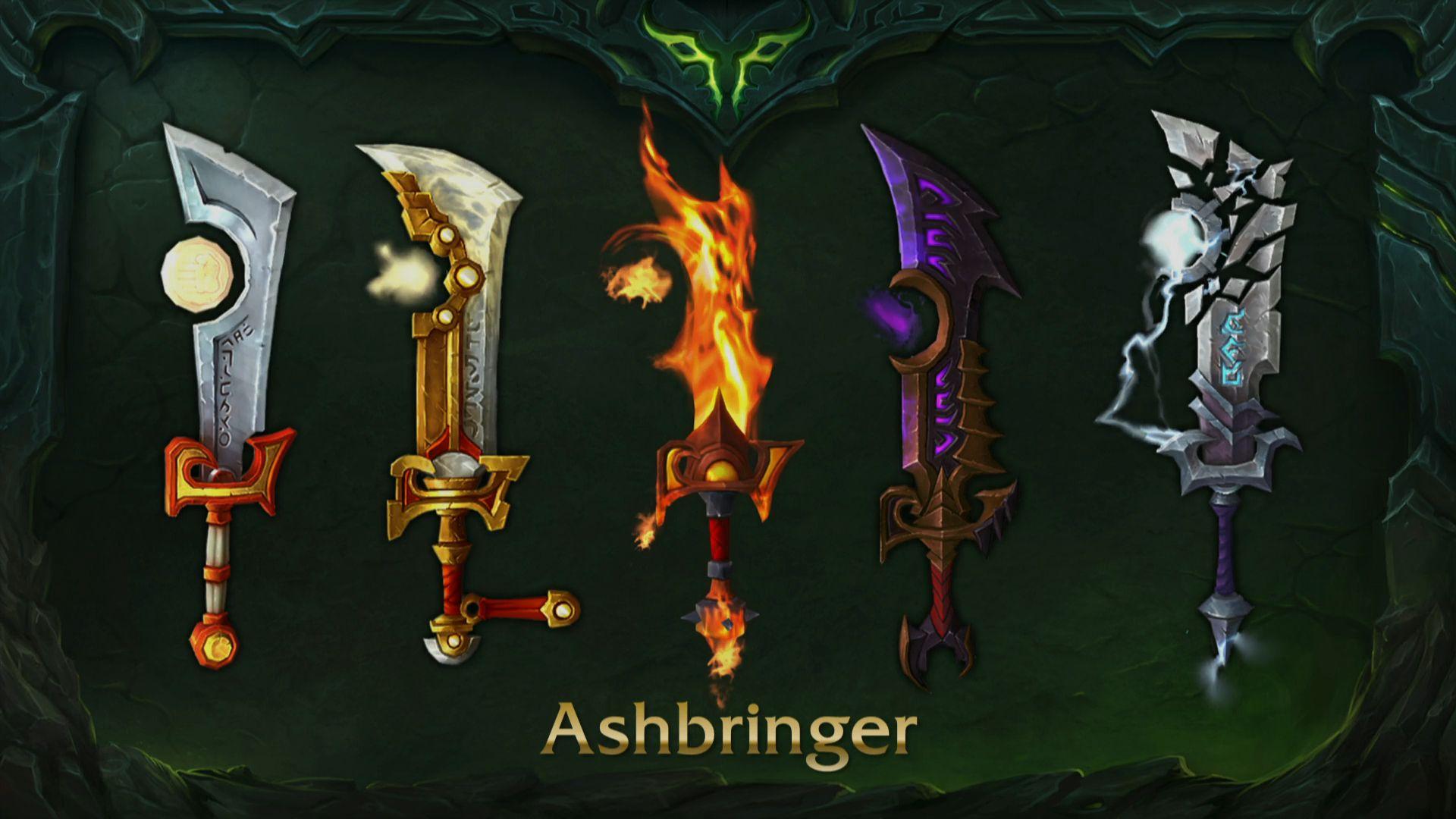 wow artifact ashbringer variants