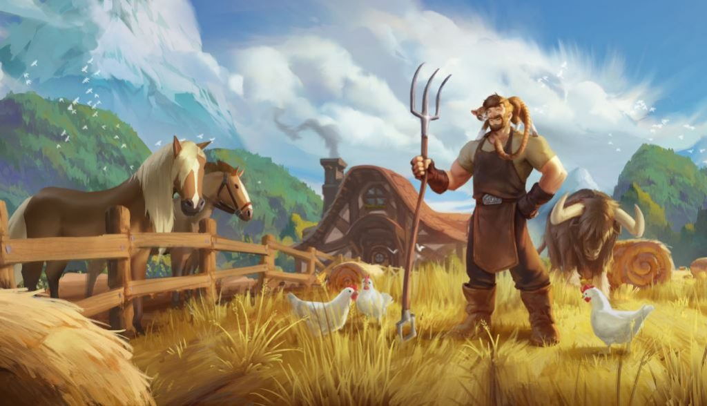 Albion Online Farming Insel