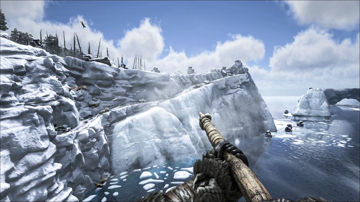 Ark Survival Schnee