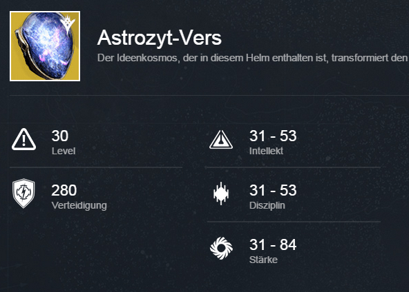 Astroszyt-Vers-Stats