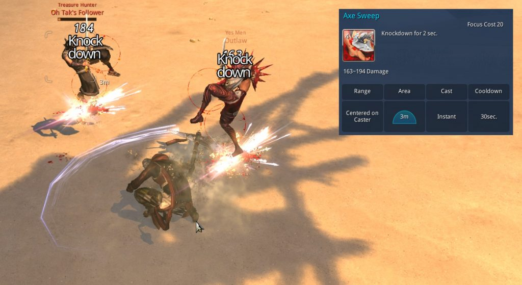 Blade and Soul combat 1