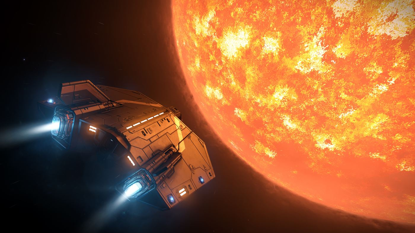 Elite Dangerous Asp_Star