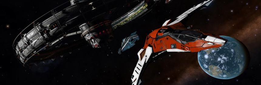 Elite-Dangerous-Raumschiff