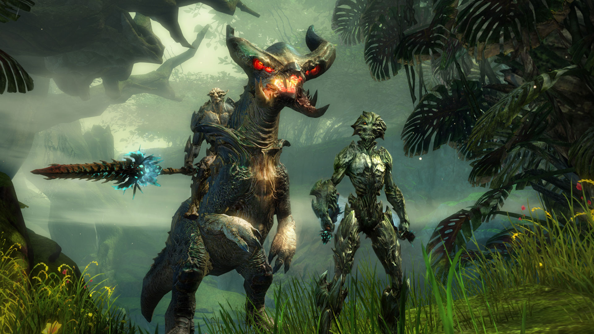 Guild Wars 2 Mordremwacht Sylvari creepy