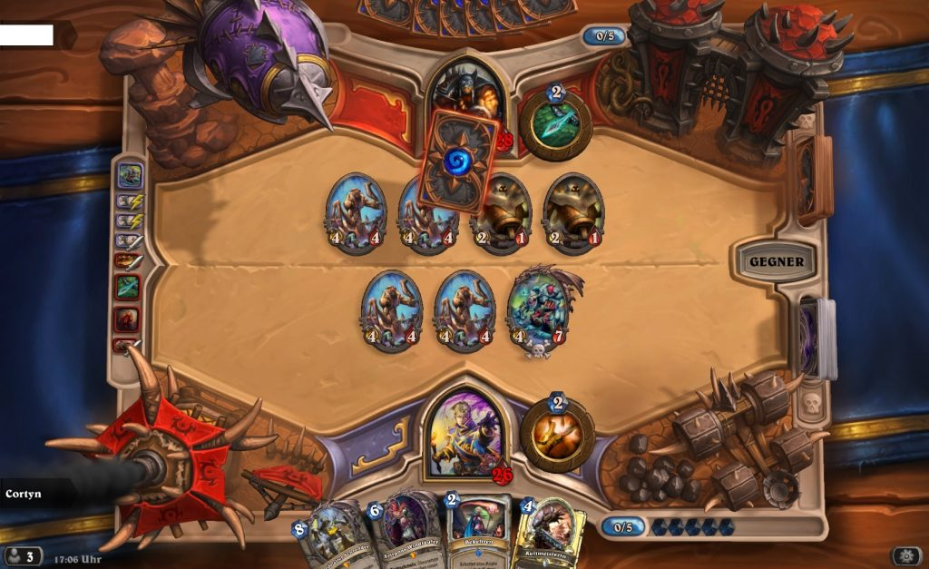 Hearthstone Kartenchaos 2 Tode Gameplay