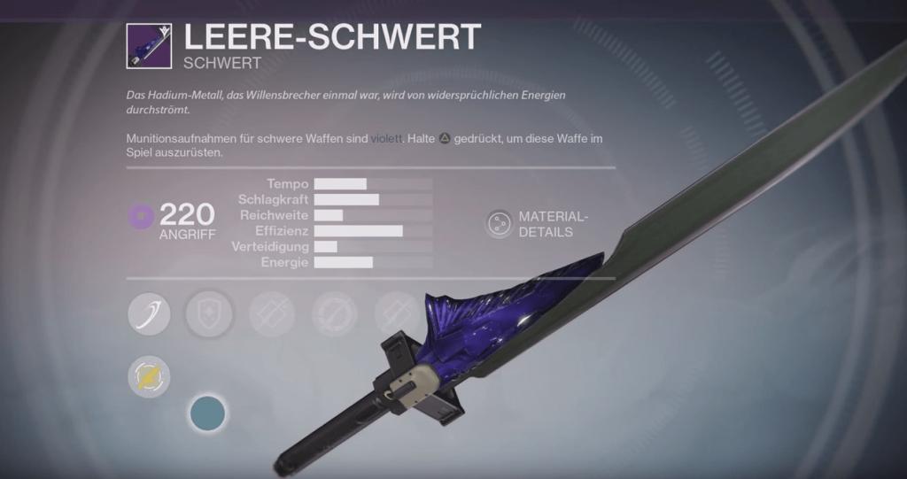 Leere-Schwert220