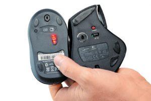 Maus-mit-Lasertechnik