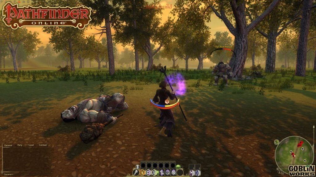Pathfinder Online Screenshot