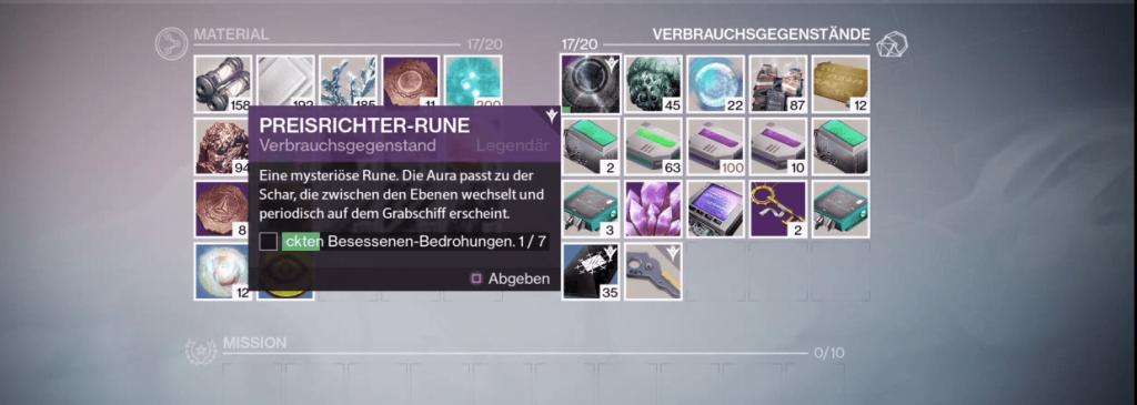 Preisrichter-Rune