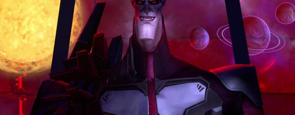 Battleborn: Der Schurke, eine Mischung aus Handsome Jack und Vampir