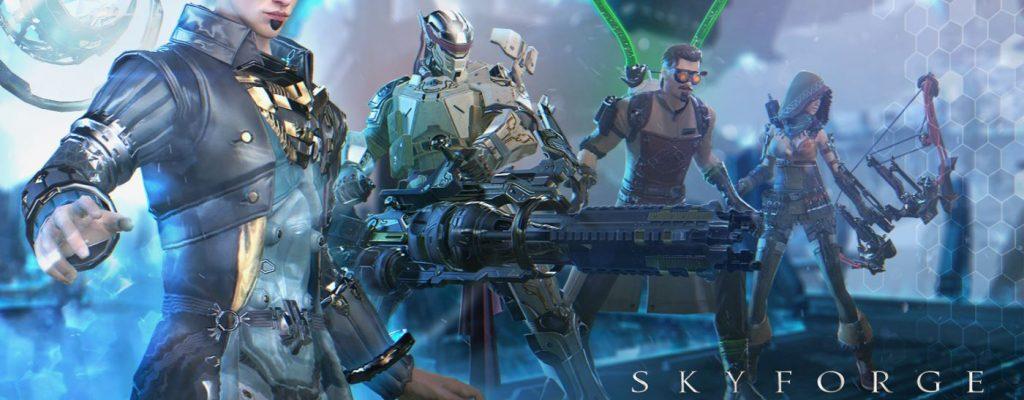 """Skyforge: """"Mechanoid War""""-Erweiterung für PS4 angekündigt"""
