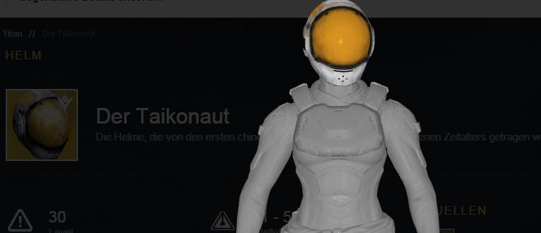 Taikonaut-Bild