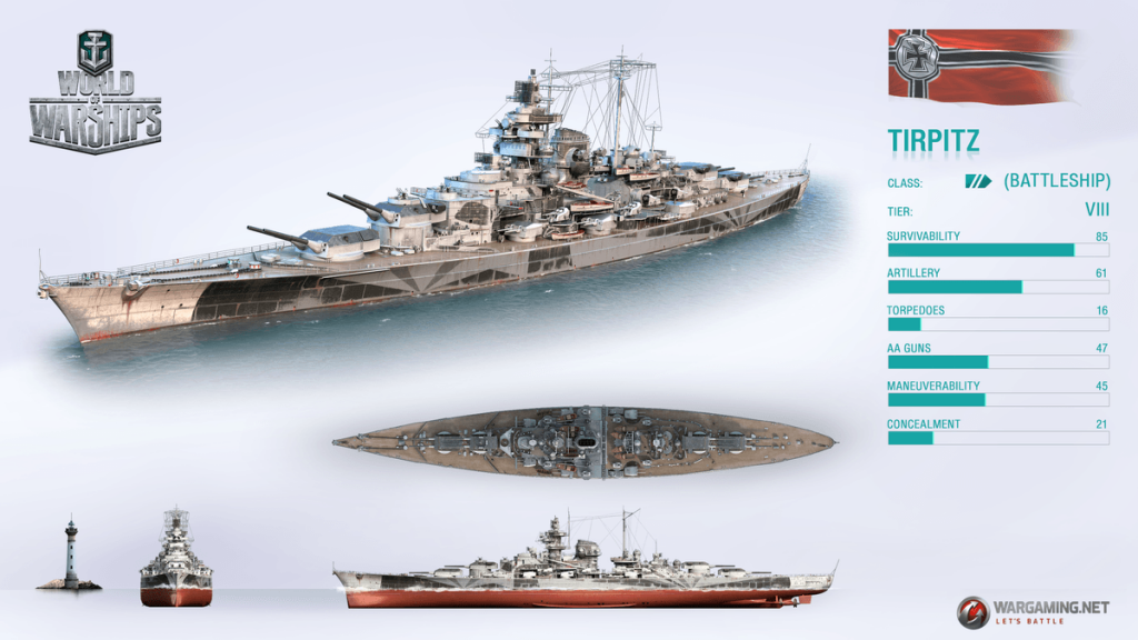 Warships-Tirpitz