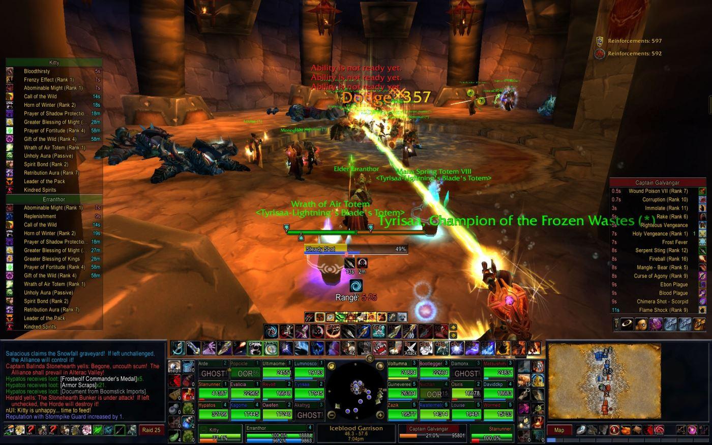 World of Warcraft UI