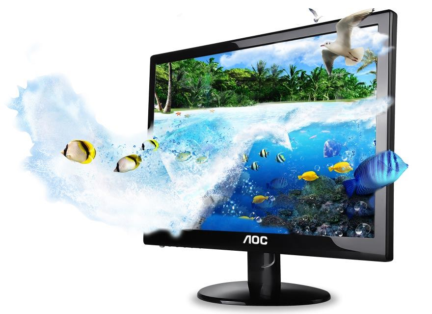 AOC 3D-Monitor