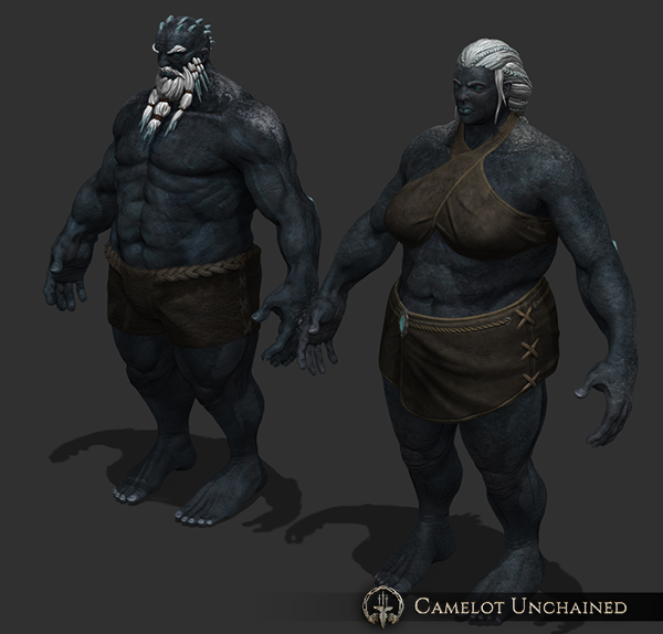 Camelot Unchained Frostriesen